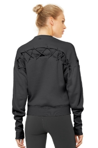 Свитшот Hook-Up Long Sleeve Top Anthracite