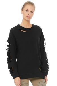 Свитшот Fade Long Sleeve Pullover Black