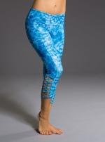 Капри для йоги Weave Capri Tie Dye Blue