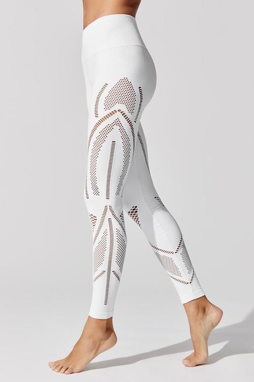 Легинсы для фитнеса Finesse White