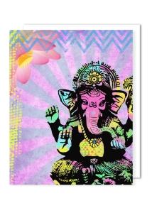 Открытка Ganesha Elephant