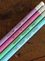 Набор карандашей с цитатами