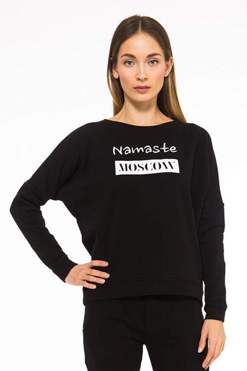 Толстовка Namaste moscow черный