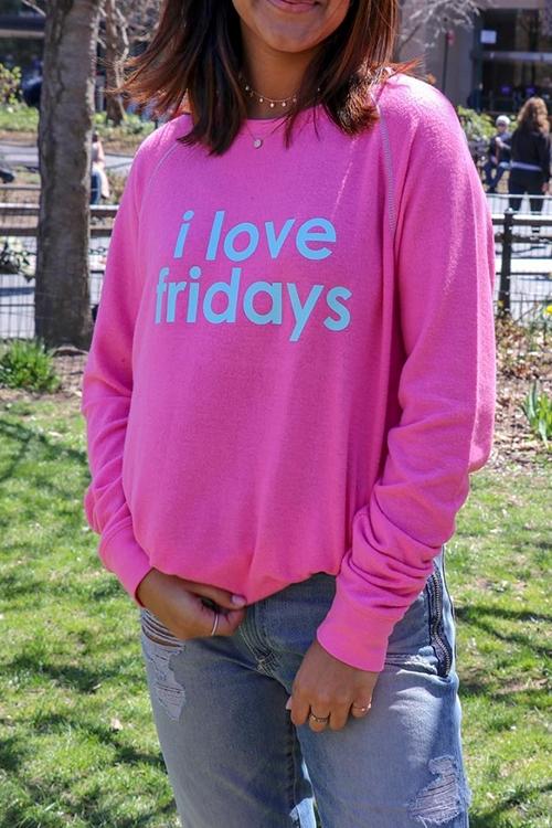 Свитер Comfy Fridays Azalea Pink