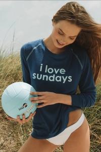 Свитер Comfy Sundays Snorkle Blue