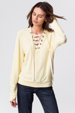 Свитер Cristina Comfy Top Pale Banana