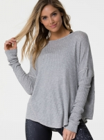 Пуловер Raglan Heather Gray
