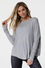 Пуловер Raglan Heather Gray