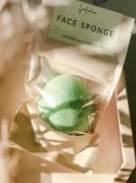 Спонж конжаковый с зеленым чаем