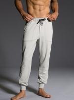 Мужские спортивные брюки Khaki Herringbone молочный