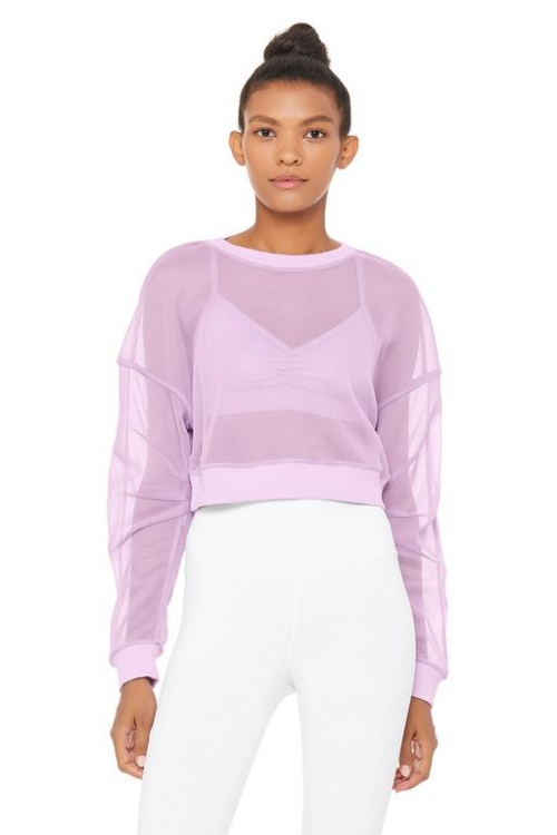 Топ Row Long Sleeve Ultraviolet