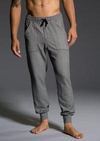 Мужские спортивные брюки Charcoal Herringbone серый