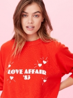 Свитшот Love Affair Sweatshirt Красный