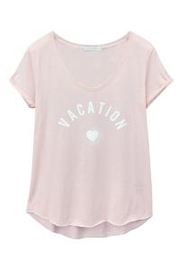 Футболка Vacation Pink