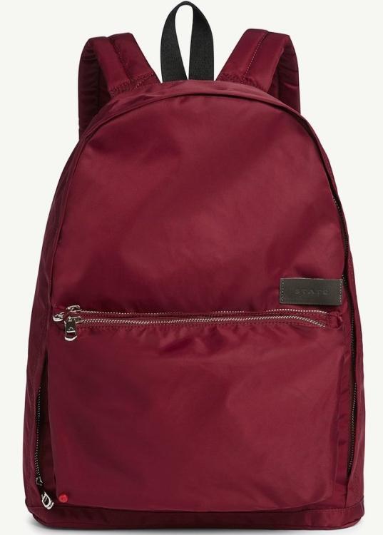 Рюкзак State Lorimer бордовый