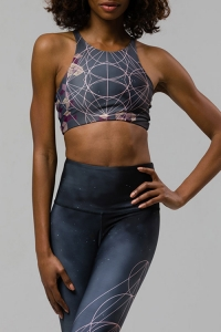 Топ спорт короткий High Graphic Elastic Bra Wonderland