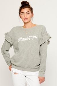 Свитшот Magnifique Gray