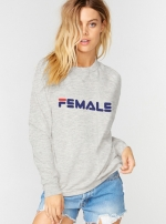Толстовка Single Female Sport Cozy Серый