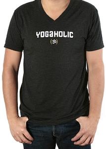 Футболка короткий рукав мужская Yogaholic Черный