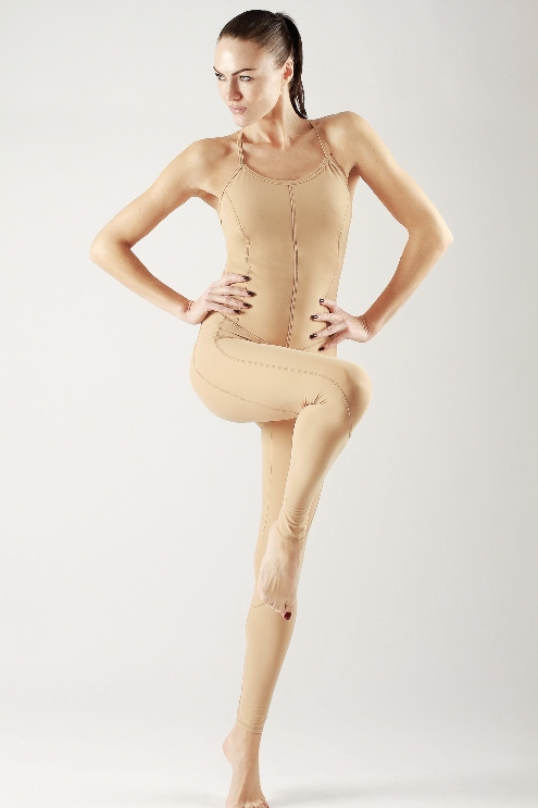 Комбинезон Yoga Nude
