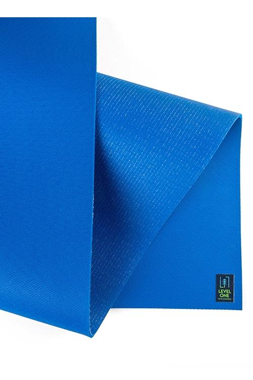 Коврик для йоги Level One Blue