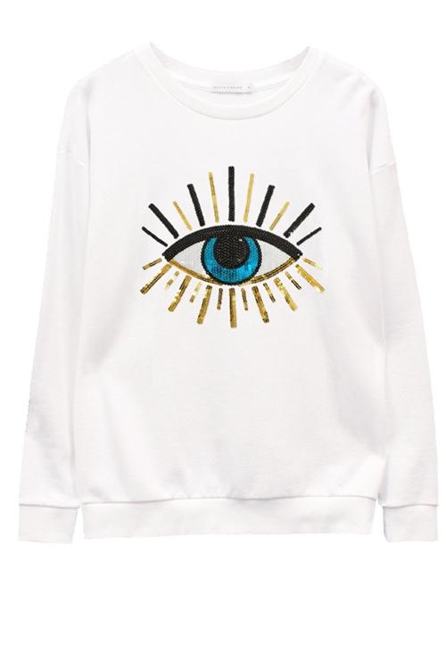Свитшот Evil Eye
