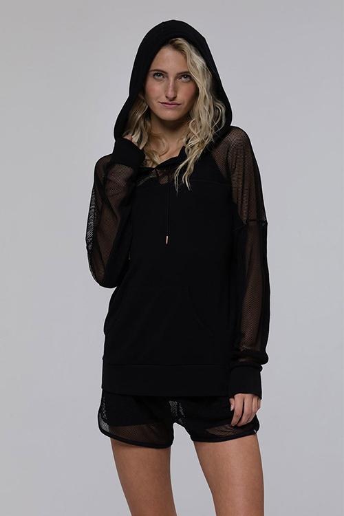 Худи Mesh Long Sleeve Black