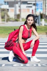 Легинсы спорт Alicante Red