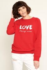 Свитер Love Красный