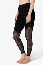 Легинсы спорт Lace Way Черный