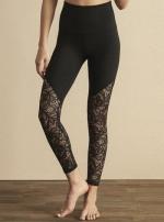 Легинсы спорт Lace Way High Waisted Midi Legging