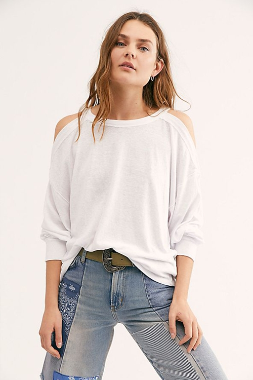 Футболка Long Sleeve Chill Out White
