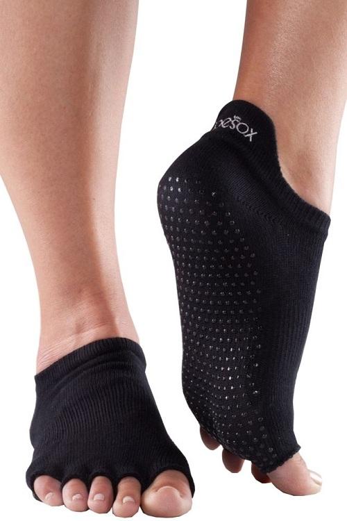 Носки для йоги Bella черный