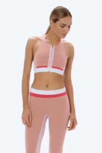 Топ спортивный короткий Jessa розовый