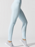 Легинсы High-Waist Lounge Powder Blue