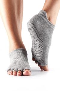 Носки для йоги Bella серый