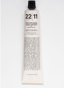 Очищающая крем-маска для лица 2 в 1 Dandelian root & White clay