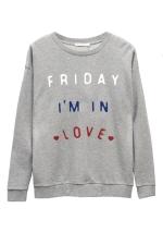 Свитшот Friday I'm in love