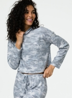 Свитер Weekend Cozy Camo Gray