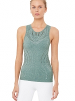 Топ длинный Lark Tank Seagrass Heather