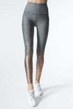 Легинсы спорт серые Alloy Ombre High Waistedmidi Legging