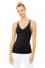 Топ длинный Figure Bra Tank Black