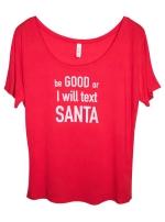 Футболка Text Santa