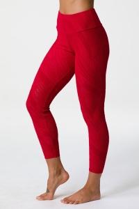 Легинсы для фитнеса Selenite Midi Red