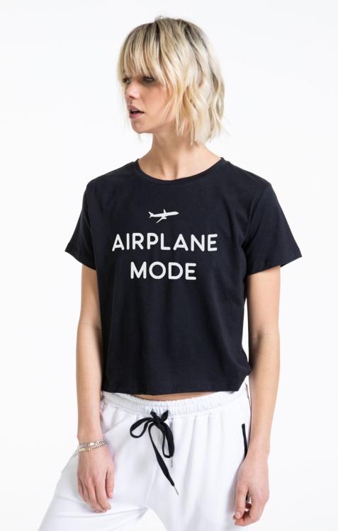 Футболка Airplane Mode Classic Crop