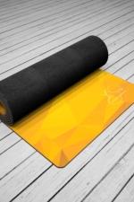 Коврик для йоги из натурального каучука Africa by Yoga Id