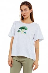 футболка женская с коротким рукавом