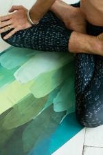 Коврик для йоги из натурального каучука Pinecone by Yoga ID
