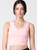 Топ Спорт Короткий Halequin Bra Розовый