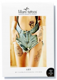 Набор переводных тату Art by Nora Ink формат А4